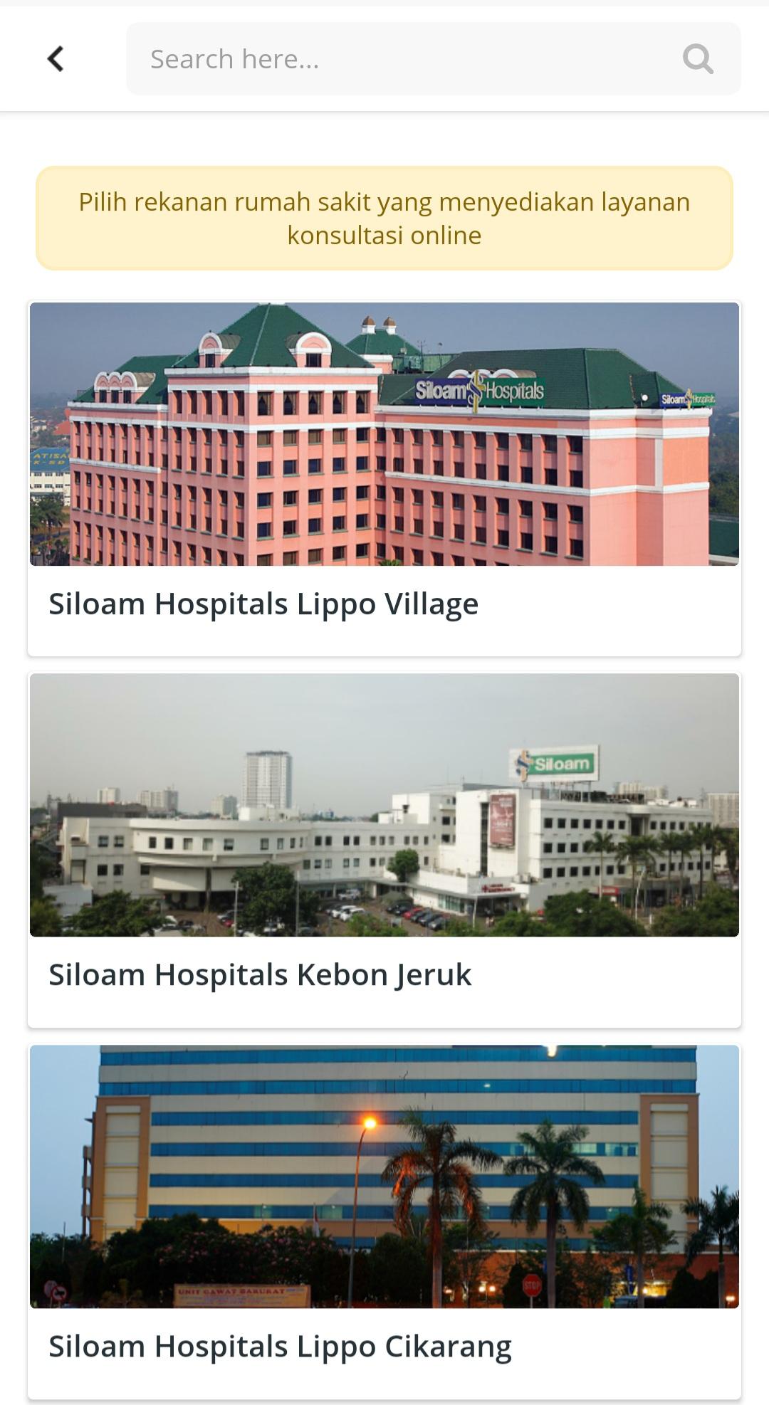 Siloam Hospital Jakarta