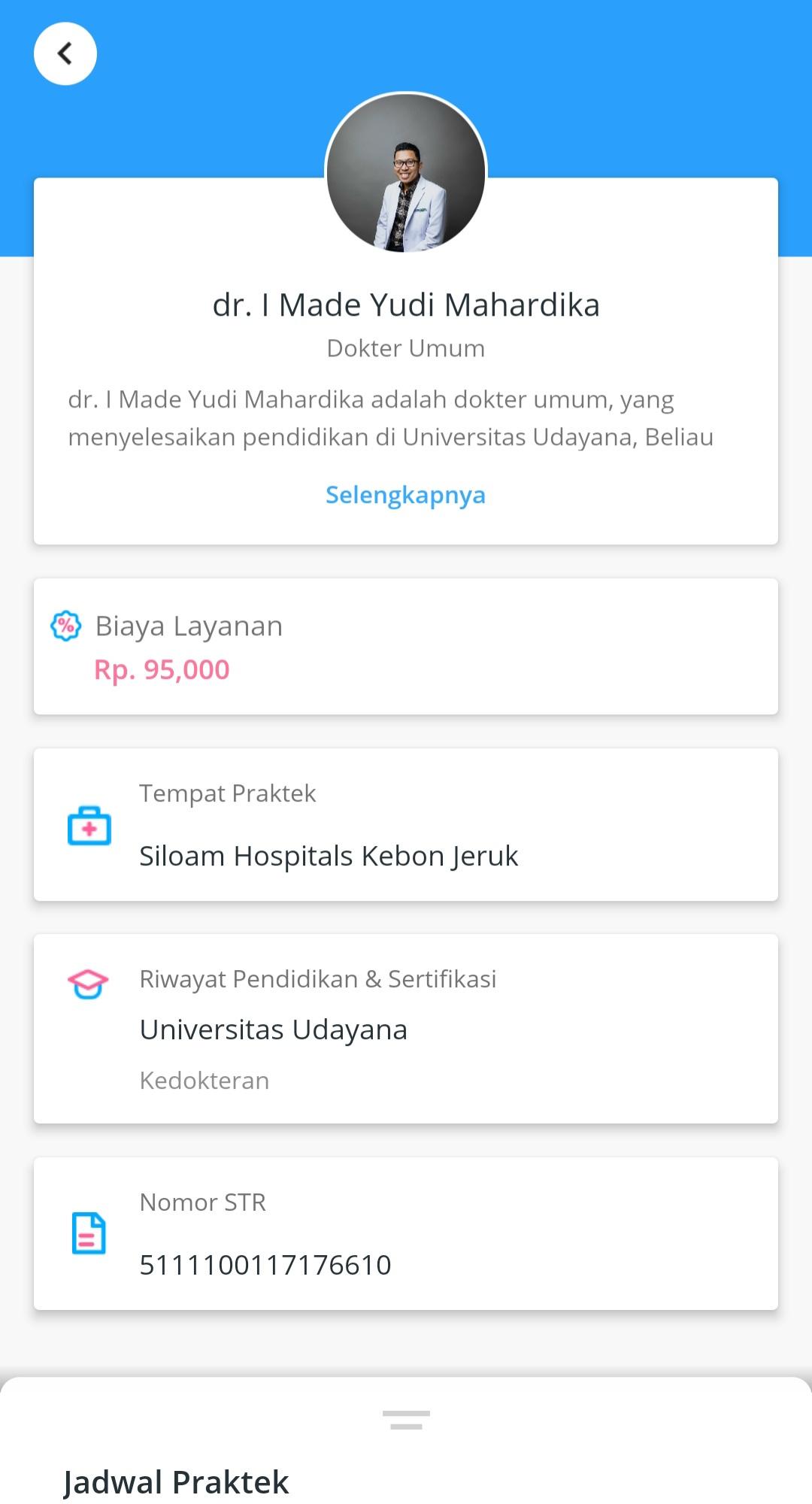 Profil tenaga medis